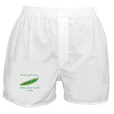 Earth Peace Boxer Shorts