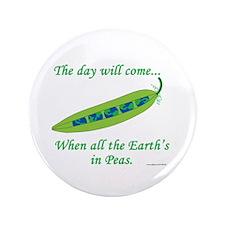 "Earth Peace 3.5"" Button"