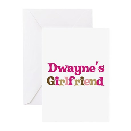 Dwayne's Girlfriend Greeting Cards (Pk of 10)