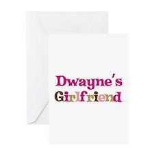 Dwayne's Girlfriend Greeting Card