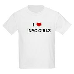 I Love NYC GIRLZ T-Shirt