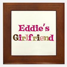 Eddie's Girlfriend Framed Tile