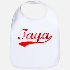 Vintage Taya (Red) Bib