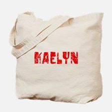 Kaelyn Faded (Red) Tote Bag
