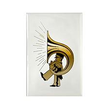 """""""Gold"""" TubaGuy Rectangle Magnet"""