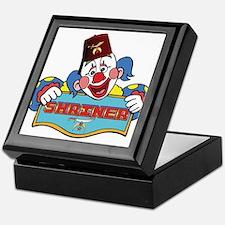 Proud Shriner Clown Keepsake Box