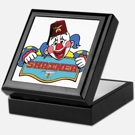Proud Shriner Clown Keepsake Box