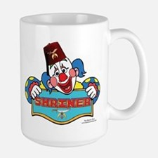 Proud Shriner Clown Large Mug