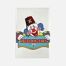 Proud Shriner Clown Rectangle Magnet