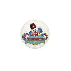Proud Shriner Clown Mini Button (10 pack)