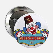 "Proud Shriner Clown 2.25"" Button"