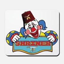 Proud Shriner Clown Mousepad