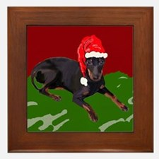 Manchester Christmas Framed Tile