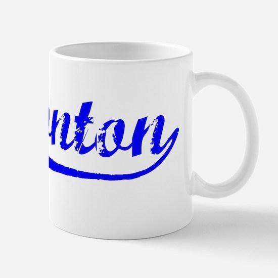 Vintage Edmonton (Blue) Mug