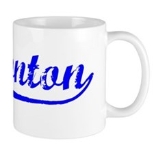 Vintage Edmonton (Blue) Small Mugs