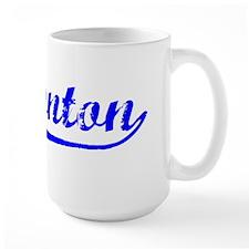 Vintage Edmonton (Blue) Ceramic Mugs