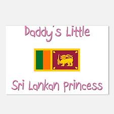 Daddy's little Sri Lankan Princess Postcards (Pack