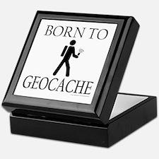 BORN TO GEOCACHE Keepsake Box