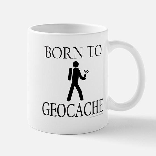 BORN TO GEOCACHE Mug