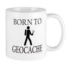 BORN TO GEOCACHE Mug