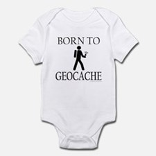 BORN TO GEOCACHE Infant Bodysuit