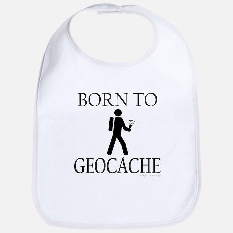 BORN TO GEOCACHE Bib