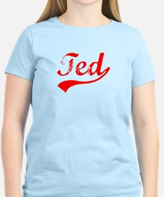 Vintage Ted (Red) T-Shirt