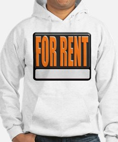 For Rent Sign Hoodie