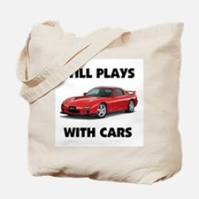 PLAYS WITH CARS Tote Bag