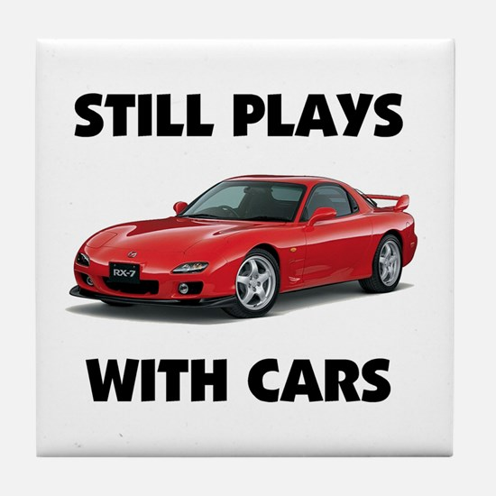 PLAYS WITH CARS Tile Coaster