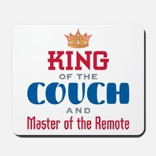 King of the Couch - Mousepad