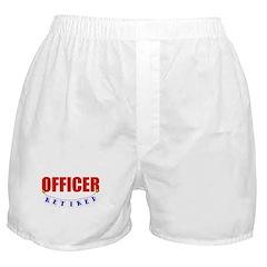 Retired Officer Boxer Shorts