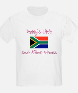 Daddy's little South African Princess T-Shirt