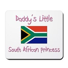 Daddy's little South African Princess Mousepad