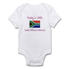 Daddy's little South African Princess Infant Bodys