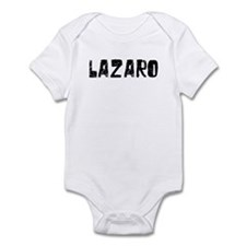 Lazaro Faded (Black) Infant Bodysuit