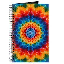 Rainbow Tie-dye Mandala Journal