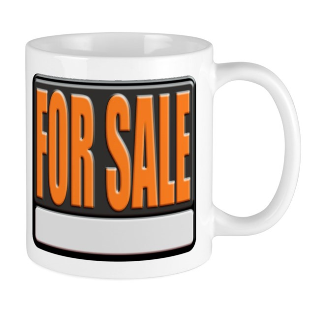 For Sale Sign Coffee Mug By Forsalesign: coffee cups for sale