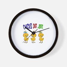 Chicks Dig Joel Wall Clock
