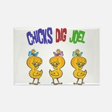 Chicks Dig Joel Rectangle Magnet