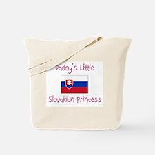 Daddy's little Slovakian Princess Tote Bag