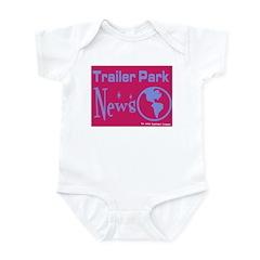 Trailer Park News Infant Creeper