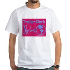 Trailer Park News White T-Shirt