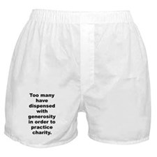 Funny Camus quote Boxer Shorts