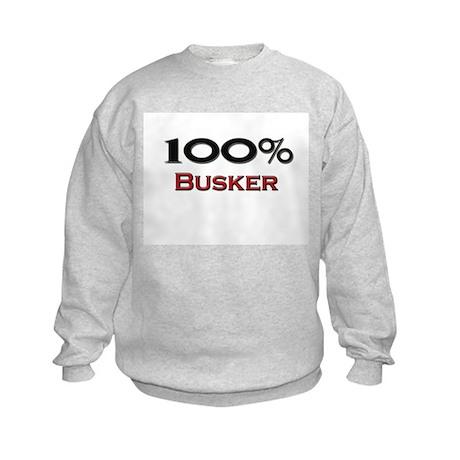100 Percent Busker Kids Sweatshirt
