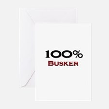 100 Percent Busker Greeting Cards (Pk of 10)