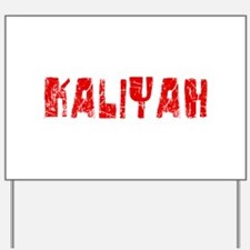 Kaliyah Faded (Red) Yard Sign
