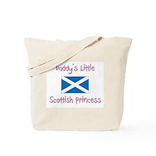 Daddy's little Scottish Princess Tote Bag