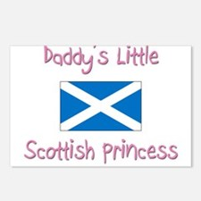Daddy's little Scottish Princess Postcards (Packag