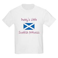 Daddy's little Scottish Princess T-Shirt